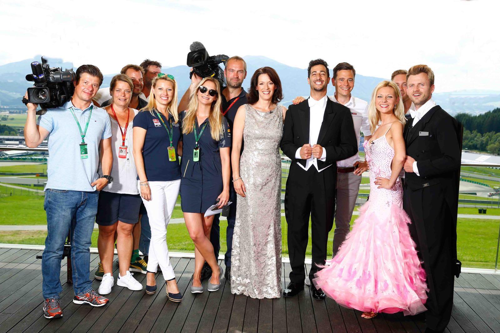 Die Formel 1 Tanzt In Spielberg