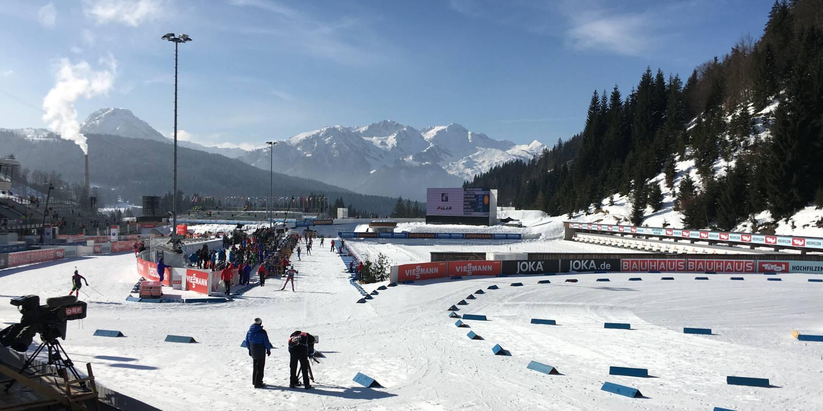 Biathlon-WM In Tirol: Arbeiten, Wo Andere Urlaub Machen ;-)