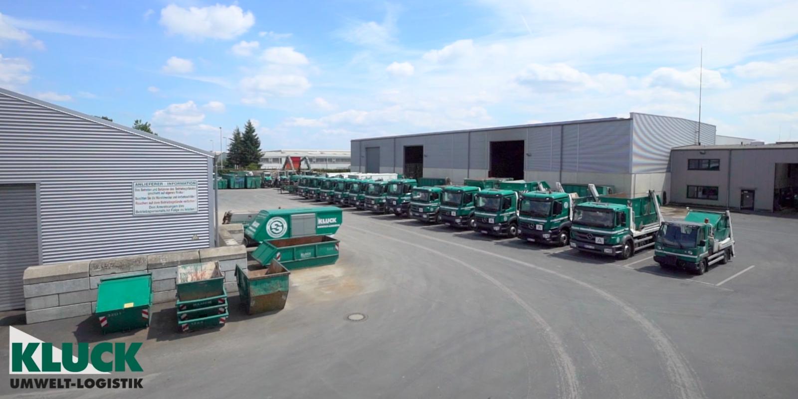 Die Kluck Umwelt-Logistik GmbH In Szene Gesetzt